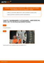 MERCEDES-BENZ M-CLASS Alatukivarsi vaihto: ohjekirja