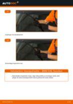 Kuidas vahetada BMW E46 esi-klaasipuhastite – õpetus