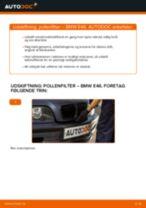 Udskift pollenfilter - BMW E46 | Brugeranvisning