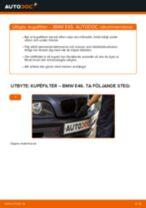 Byta kupéfilter på BMW E46 – utbytesguide