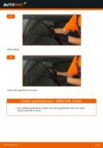 Kuinka vaihtaa pyyhkijänsulat eteen BMW E46-autoon – vaihto-ohje