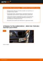 Jak wymienić filtr kabinowy w BMW E46 - poradnik naprawy