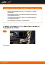 Ako vymeniť filter vnútorného priestoru na BMW E46 – návod na výmenu