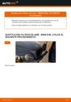 Cómo cambiar: filtros de aire - BMW E46 | Guía de sustitución