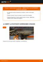 Motorolaj és szűrők-csere BMW E46 gépkocsin – Útmutató