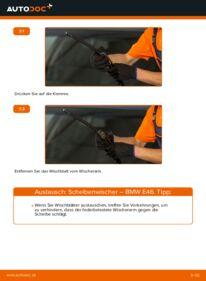 Wie der Wechsel durchführt wird: Scheibenwischer 320d 2.0 BMW E46 tauschen
