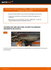 Wie der Wechsel durchführt wird: Ölfilter BMW E46 320d 2.0 330d 2.9 320i 2.2 tauschen