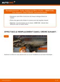 Comment effectuer un remplacement de Filtre à Huile sur 320d 2.0 BMW E46