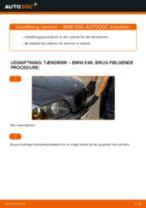 Udskift tændrør - BMW E46   Brugeranvisning