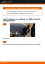 Manual online sobre el cambio de Juego de bujías por su cuenta en BMW 3 (E46)
