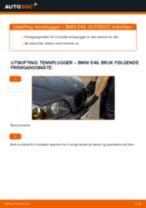 Slik bytter du tennplugger på en BMW E46 – veiledning