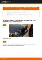 Poradnik krok po kroku w formacie PDF na temat tego, jak wymienić Filtr oleju w Mazda 323 F bj