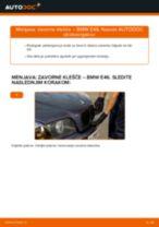 Kako zamenjati avtodel zavorne klešče spredaj na avtu BMW E46 – vodnik menjave