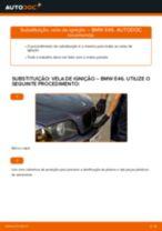 Como mudar vela de ignição em BMW E46 - guia de substituição
