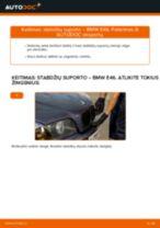 Montavimo Rato stebulė BMW 3 (E46) - žingsnis po žingsnio instrukcijos