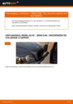 Hoe remklauw vooraan vervangen bij een BMW E46 – vervangingshandleiding