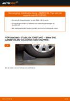 Hoe stabilisatorstang vooraan vervangen bij een BMW E46 – Leidraad voor bij het vervangen