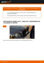 Hoe remklauw vooraan vervangen bij een BMW E46 – Leidraad voor bij het vervangen