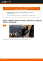 Comment changer : étrier de frein avant sur BMW E46 - Guide de remplacement
