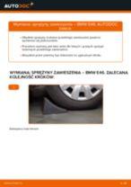 Jak wymienić sprężyny zawieszenia przód w BMW E46 - poradnik naprawy