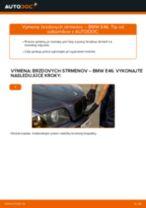 Ako vymeniť predné brzdový strmeň na BMW E46 – návod na výmenu