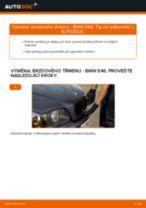 Jak vyměnit přední brzdový třmen na BMW E46 – návod k výměně