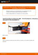 Cambio Cilindro de freno delantero y trasero AUDI bricolaje - manual pdf en línea