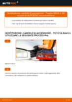 TOYOTA RAV 4 II (CLA2_, XA2_, ZCA2_, ACA2_) Candela Di Accensione sostituzione: tutorial PDF passo-passo