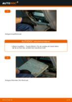 Byta kupéfilter på Toyota RAV4 II – utbytesguide