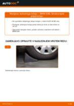Kako zamenjati avtodel kolesni ležaji spredaj na avtu BMW E46 – vodnik menjave