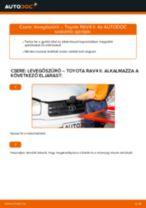 Lépésről-lépésre PDF-útmutató - TOYOTA RAV 4 II (CLA2_, XA2_, ZCA2_, ACA2_) Kerékcsapágy csere