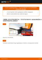 Hogyan cseréljünk első bal jobb Kerékcsapágy készlet LADA TOSCANA - kézikönyv online
