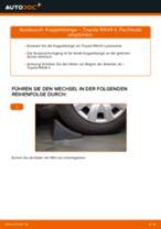 Wie Motorhalterung hinten links beim Chevrolet Cruze j305 wechseln - Handbuch online