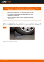 Comment changer : biellette de barre stabilisatrice arrière sur Toyota RAV4 II - Guide de remplacement