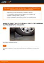 Comment changer : rotule de rirection sur Toyota RAV4 II - Guide de remplacement