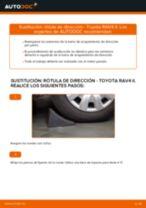 Instalación Cable de accionamiento freno de estacionamiento TOYOTA RAV 4 II (CLA2_, XA2_, ZCA2_, ACA2_) - tutorial paso a paso