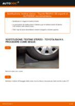 Come cambiare testine sterzo su Toyota RAV4 II - Guida alla sostituzione