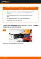 Skifte Bremseskiver TOYOTA RAV4: gratis pdf