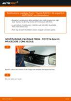 Come cambiare pastiglie freno della parte anteriore su Toyota RAV4 II - Guida alla sostituzione