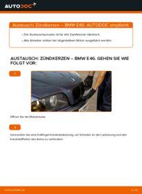 Wie der Wechsel durchführt wird: Zündkerzen 320d 2.0 BMW E46 tauschen