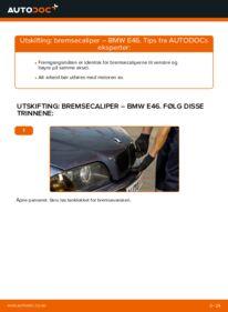 Slik bytter du Bremsecaliper på BMW 3 SERIES