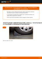 Come cambiare ammortizzatore a molla della parte anteriore su Toyota RAV4 II - Guida alla sostituzione