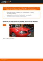 GATES WP0015 per Ibiza III Hatchback (6L) | PDF istruzioni di sostituzione