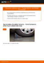 Recomandările mecanicului auto cu privire la înlocuirea TOYOTA Toyota Rav4 II 2.0 4WD (ACA21, ACA20) Bara torsiune