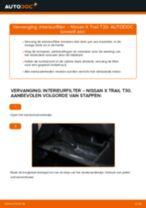NISSAN GT-R stapsgewijze handleidingen over onderhoud