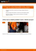 PDF manuel de remplacement: Filtre à huile NISSAN X-TRAIL (T30)