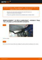Manuel en ligne pour changer vous-même de Débitmètre de masse d'air sur Peugeot 206 SW