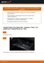 NIPPARTS J1341018 til X-TRAIL (T30) | PDF udskiftnings guide