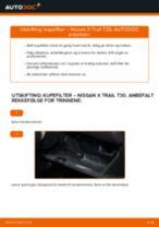 Bytte Glødelampe Nummerskiltlys ALFA ROMEO GT: handleiding pdf