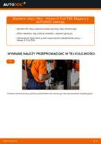 Samodzielna wymiana Filtr olejowy NISSAN - online instrukcje pdf